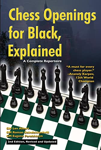 Chess Openings for Black, Explained: A Complete Repertoire (Paperback): Lev Alburt