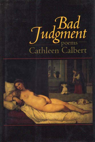 9781889330242: Bad Judgment: Poems