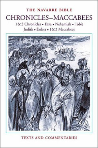 9781889334844: The Navarre Bible: Chronicles to Maccabees (The Navarre Bible: Old Testament)