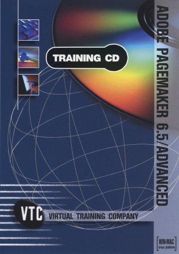 9781889347301: Adobe Pagemaker 6.5/Advanced