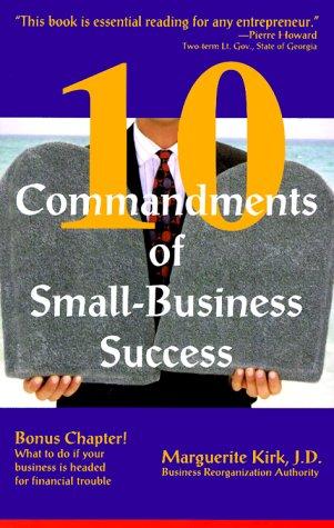 9781889438252: 10 Commandments of Small-Business Success