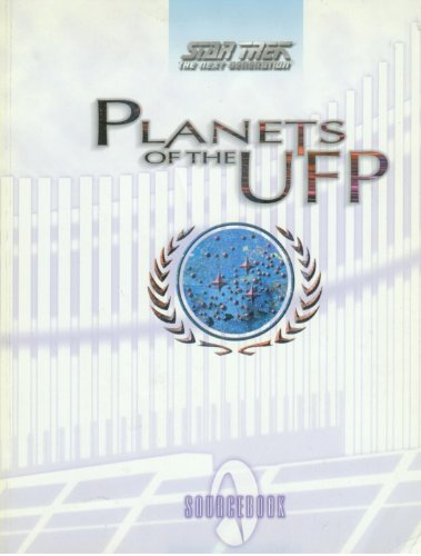 9781889533056: Star Trek The Next Generation : Planets of the UFP