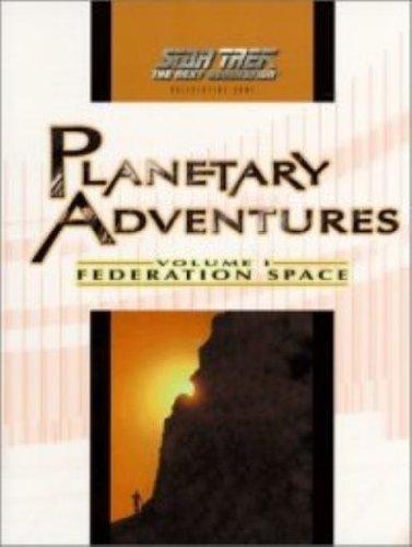 Planetary Adventures Volume One Federation Space: Last Unicorn Games