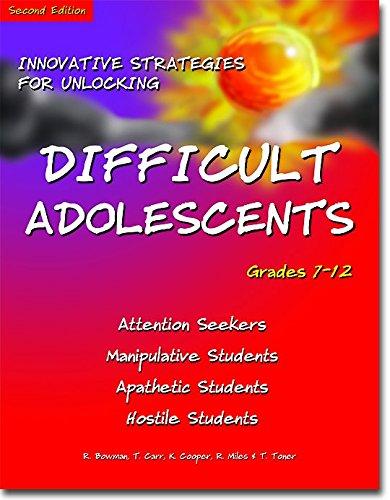 Innovative Strategies for Unlocking Difficult Adolescents: Grades: Bowman, Robert P.;