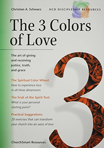 9781889638454: The 3 Colors of Love (NCD Discipleship Resources)