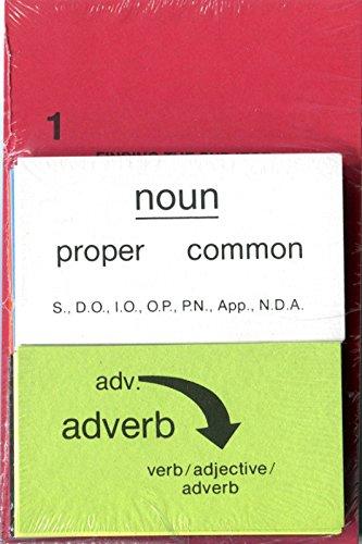 9781889673059: Basic Partsof Speech Card Set (Winston Grammar)
