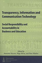 9781889680606: Transparency, Information and Communication Technology: Social Responsibility and Accountability in Business and Education