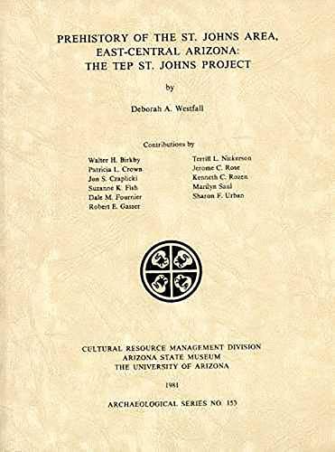 Prehistory of the St. Johns Area, East-central: Deborah A. Westfall