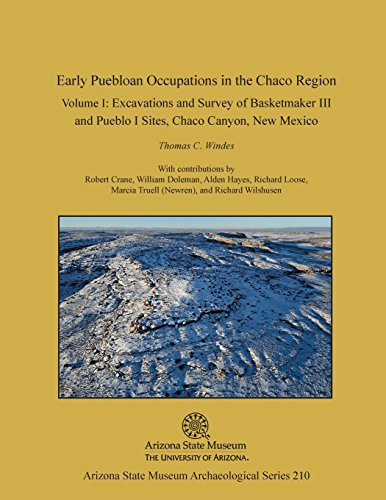 9781889747958: Early Puebloan Occupations in the Chaco Region, Volume I