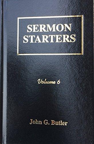 9781889773469: Sermon Starters Volume 6