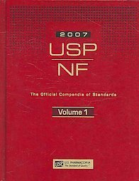 USP NF 2007 with Suppliment (United States Pharmacopeia/National Formulary)