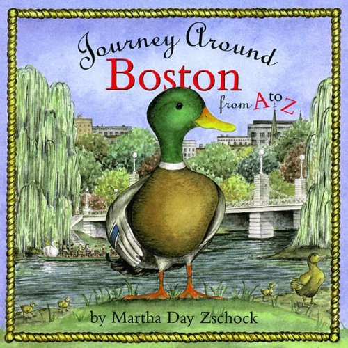 9781889833194: Journey Around Boston from A to Z (Journeys)
