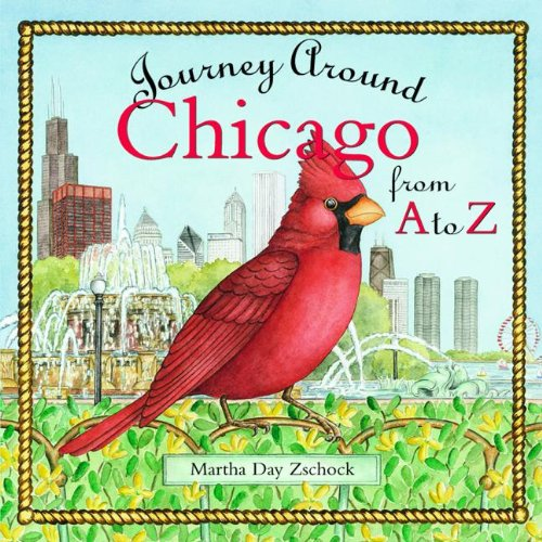 9781889833859: Journey Around Chicago from A to Z (Journeys)