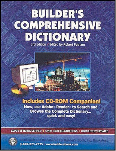 9781889892368: Builder's Comprehensive Dictionary, Third Edition (Book & CD-ROM)