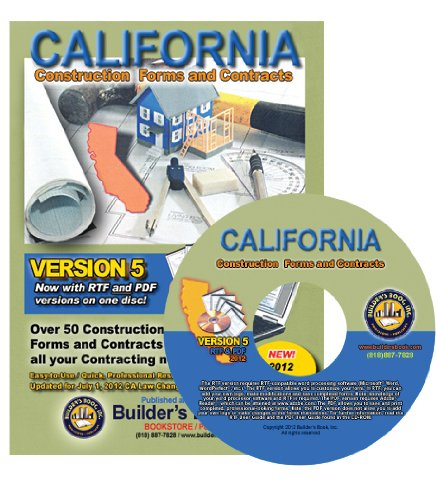 9781889892948: California Construction Forms and Contracts on CD-ROM VERSION 5