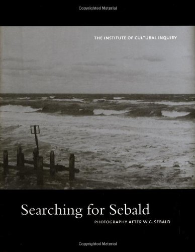 9781889917115: Searching for Sebald