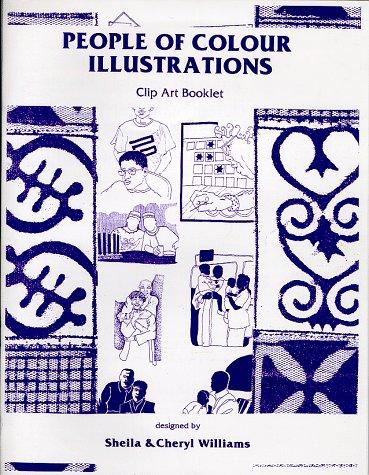 9781889926629: People of Colour Illustrations Clip Art Book, Vol. 1, No. 1