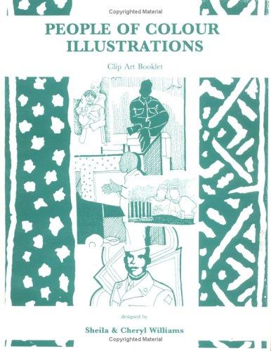 9781889926643: People of Colour Illustrations Clip Art Book, Vol. 1, No. 3