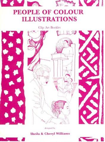 9781889926650: People of Colour Illustrations Clip Art Book, Vol. 1, No. 4