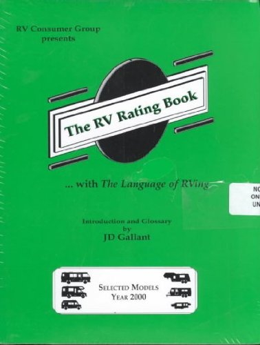 The Rv Rating Book: Selected Models 2000: Not Available