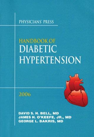 Handbook of Diabetic Hypertension: David S. H.