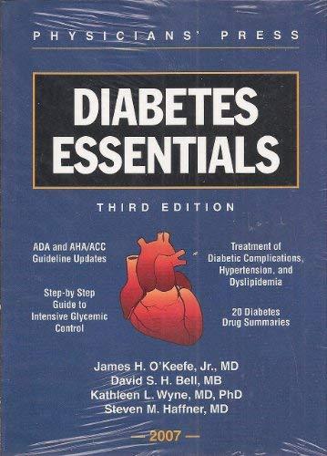 Diabetes Essentials: Haffner, Steven M.,