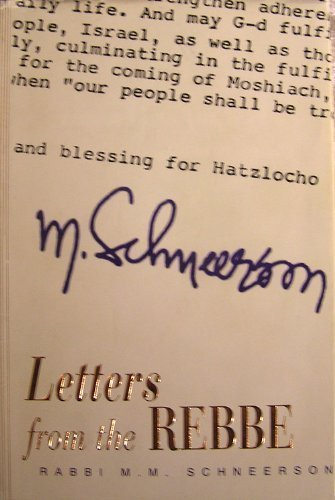 9781890128067: Letters from the Rebbe: Rabbi Menachem Mendel Schneerson
