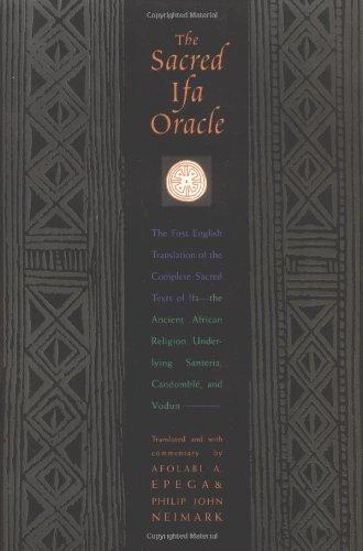 9781890157180: The Sacred IFA Oracle
