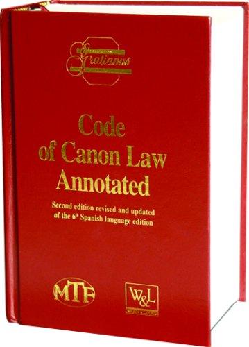 9781890177447: Code of Canon Law Annotated: Prepared Under the Responsibility of the Instituto Martin De Azpilcueta