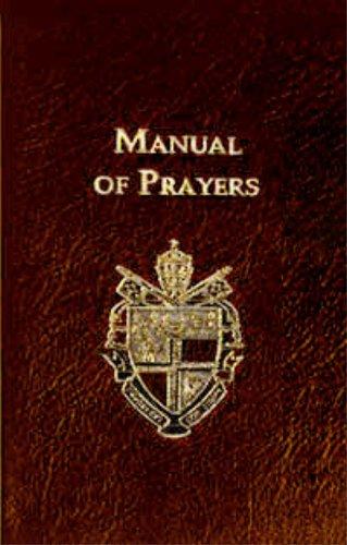 9781890177522: Manual of Prayers (Burgundy)