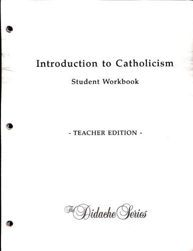 9781890177638: Introduction to Catholicism Teacher's Edition (Didache Series)