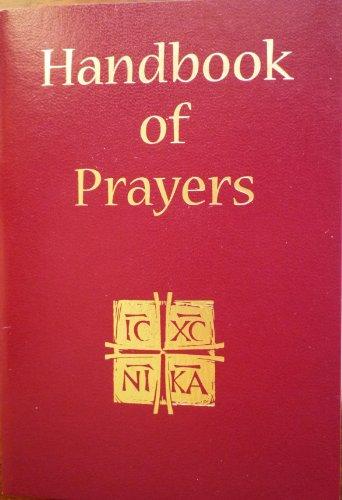 9781890177683: Handbook of Prayers