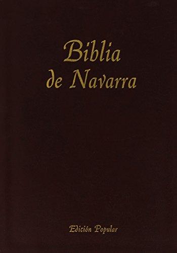 9781890177706: Biblia De Navarra (Encuadernada En Piel)