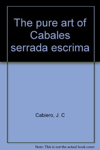 The pure art of Cabales serrada escrima