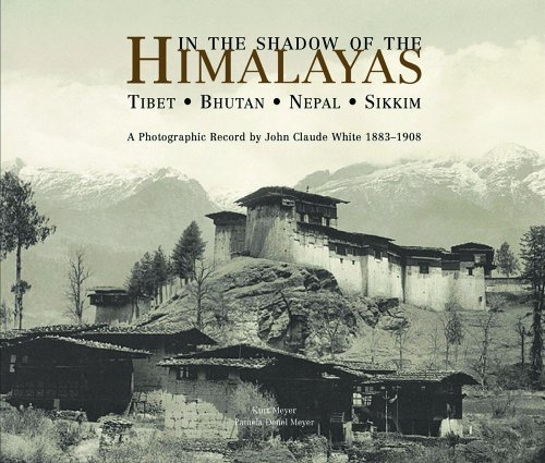 9781890206611: In the Shadow of the Himalayas: Tibet-Bhutan-Nepal-Sikkim a Photographic Record by John Claude White 1883-1908
