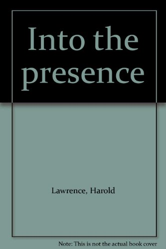 9781890307073: Into the presence