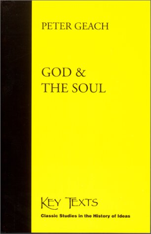 9781890318550: God and the Soul (Key Texts : Classic Studies in the History of Ideas)