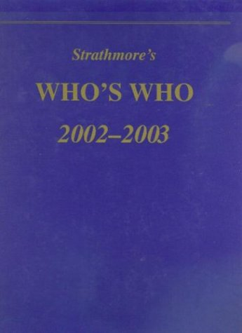 9781890347109: Strathmore's Who's Who, Ninth Edition