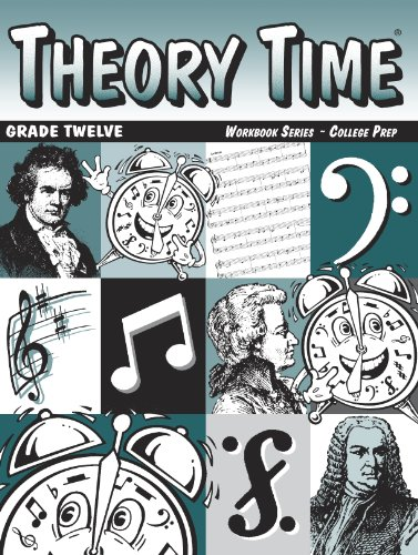 9781890348120: Theory Time: Workbook Series - College Prep Grade 12