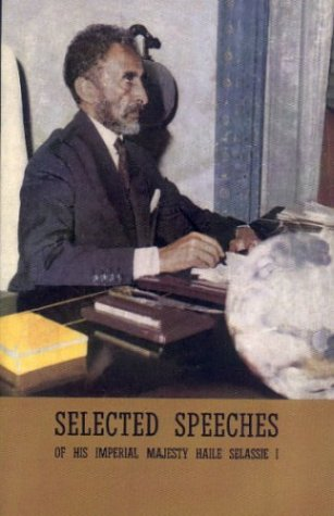 9781890358013: Selected Speeches of Haile Selassie