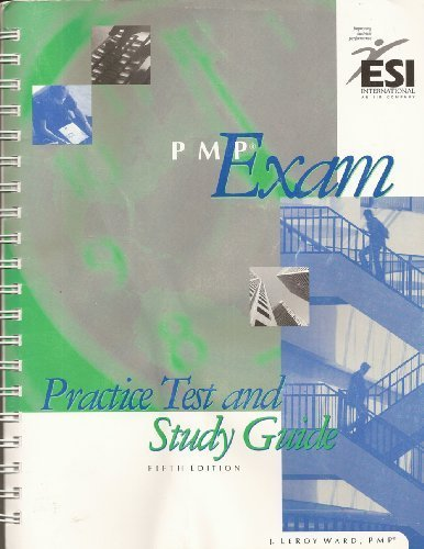 9781890367350: PMP Exam Practice Test and Study Guide, Fifth Edition