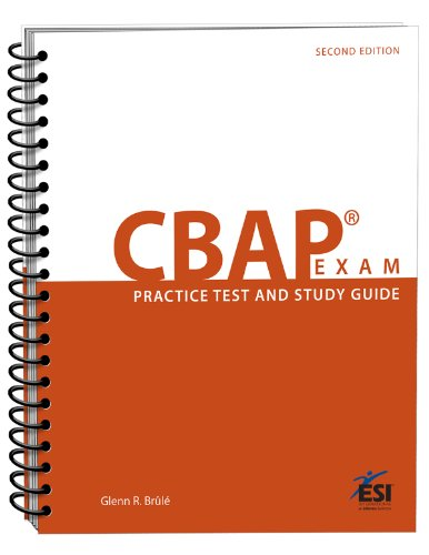 9781890367497: CBAP Exam: Practice Test and Study Guide 1st edition