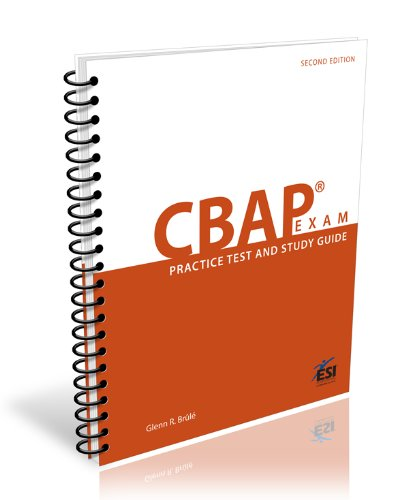 9781890367541 cbap exam practice test and study guide second rh abebooks com cbap / ccba certified business analysis study guide 2nd edition pdf Project Management Certification