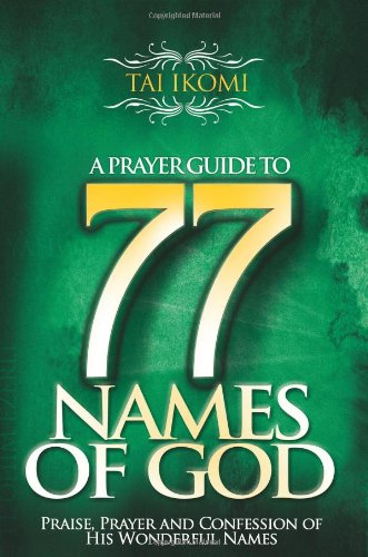 9781890430825: A Prayer Guide to 77 Names of God