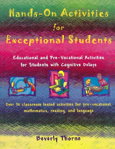 9781890455316: Hands-On Activities for Exceptional Students: Educational and Pre-Vocational Activities for Students with Cognitive Delays