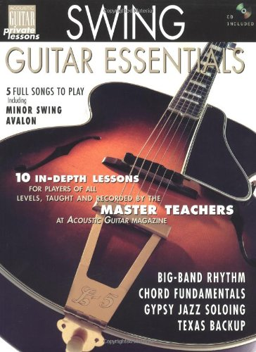 9781890490188: Swing Guitar Essentials Book/CD (String Letter Publishing) (Acoustic Guitar) (Acoustic Guitar Magazine's Private Lessons)
