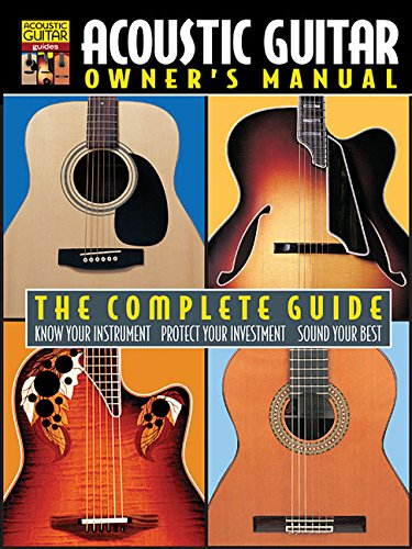 9781890490218: Acoustic Guitar Owner's Manual Book (String Letter Publishing) (Acoustic Guitar) (Acoustic Guitar Guides)