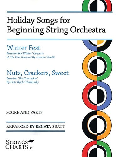 9781890490652: Holiday Songs for Beginning String Orchestra: Winter Fest and Nuts, Crackers, Sweet - String Orchestra (String Charts) (Strings Charts Series)