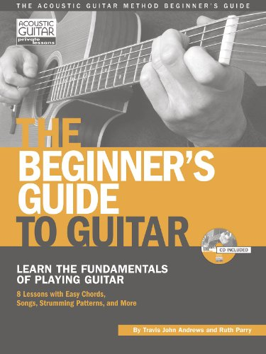 9781890490690: The beginner's guide to guitar guitare+CD (Acoustic Guitar Private Lessons)