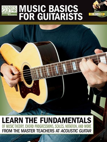 Music Basics For Guitarists (Book/Cd) (Acoustic Guitar Private Lessons)